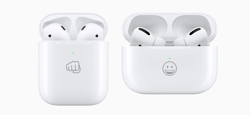 airpods case emogi - Гравировка Airpods