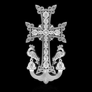3д моделироваие большого креста