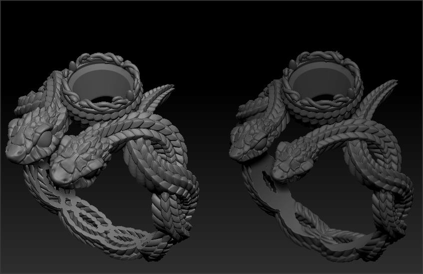 3д моделирование колец