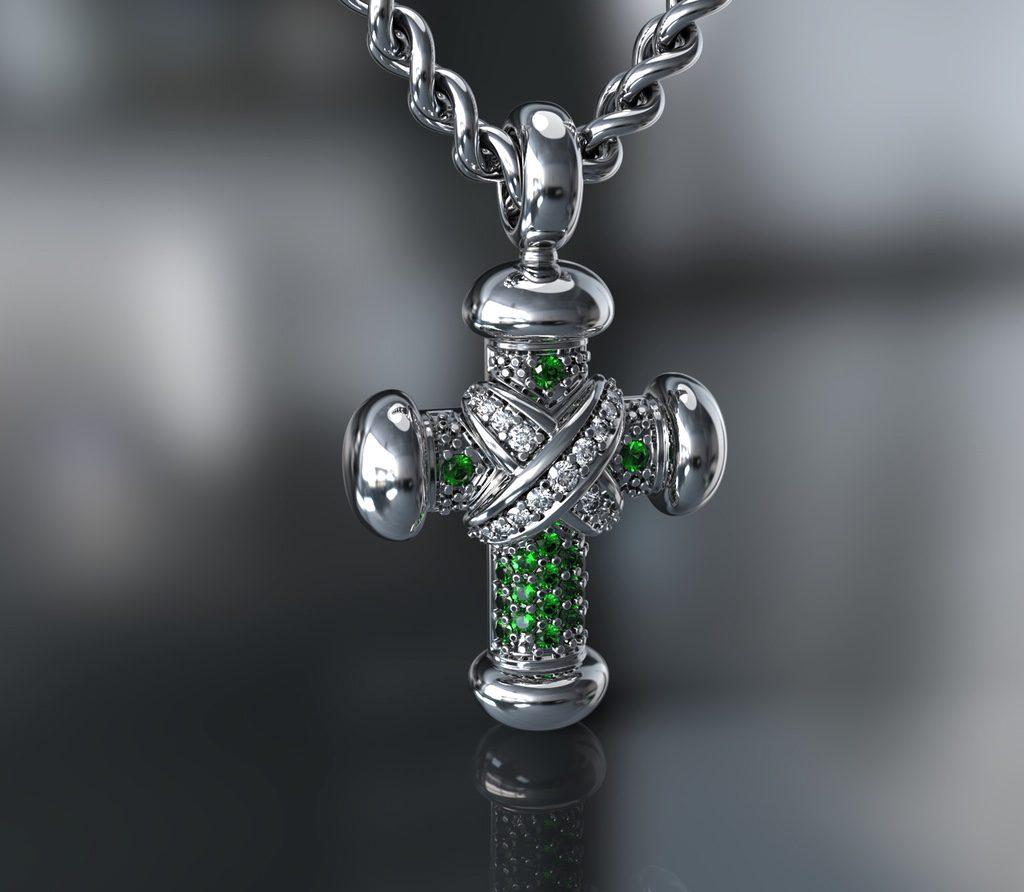 3д моделирование креста