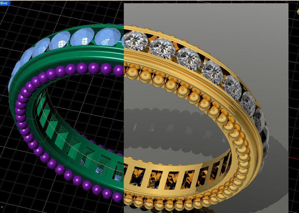 eternity ring split screen 1024x728 - Что входит в услуги по 3D моделированию?
