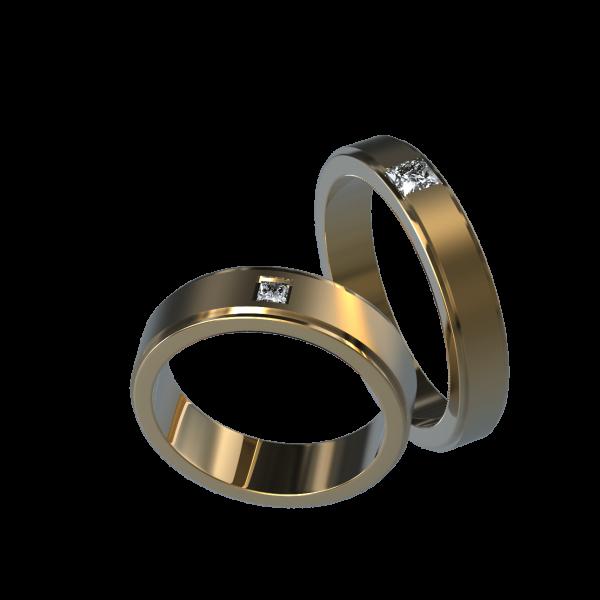 Обручальное Кольцо 9
