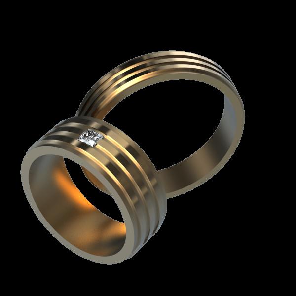 Обручальное Кольцо 10