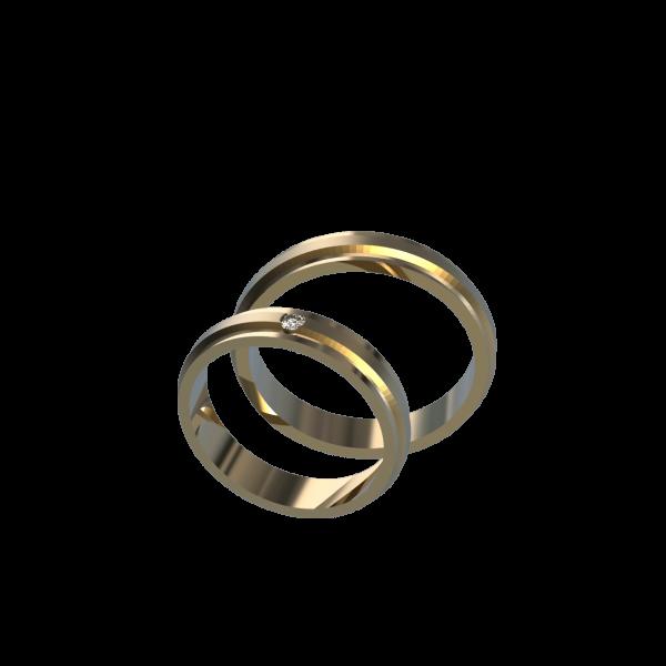 Обручальное Кольцо 18