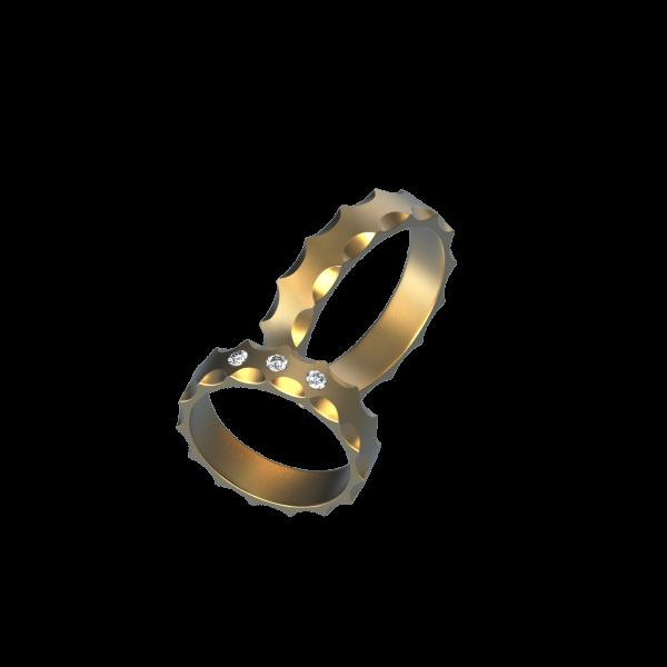 Обручальное Кольцо 21