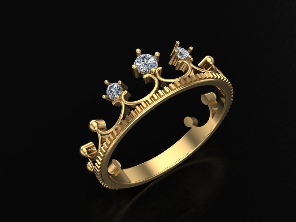3д моделирование кольца корона - Важность 3D моделирования в графических дисциплинах