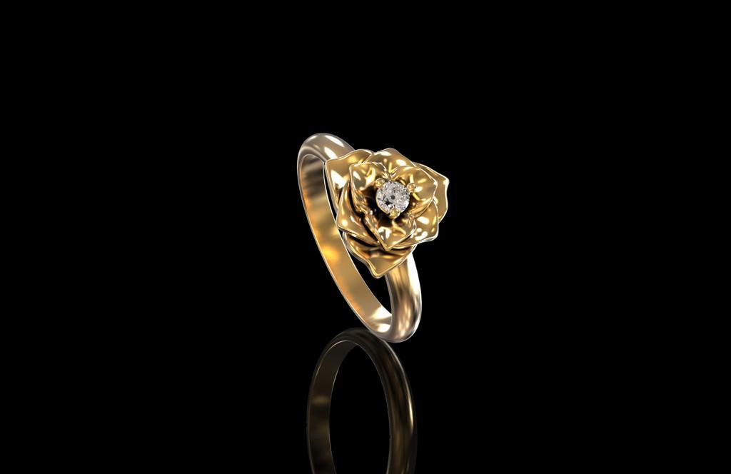 3д моделирование кольца роза - Важность 3D моделирования в графических дисциплинах