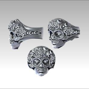 Кольцо Лицо в маске