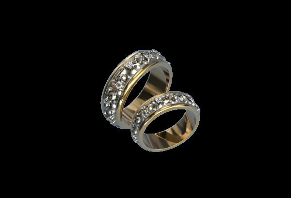 Обручальное Кольцо 349