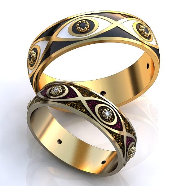 Обручальные Кольца 597