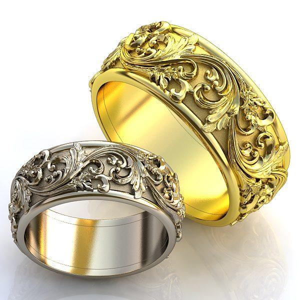 Обручальные Кольца 1074