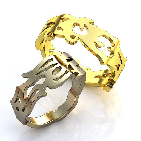 Обручальные Кольца 124