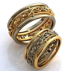 Обручальные Кольца 1504