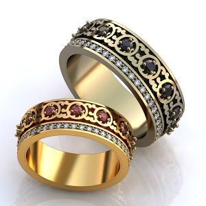 Обручальные Кольца 1508
