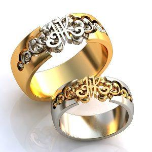 Обручальные Кольца 1509
