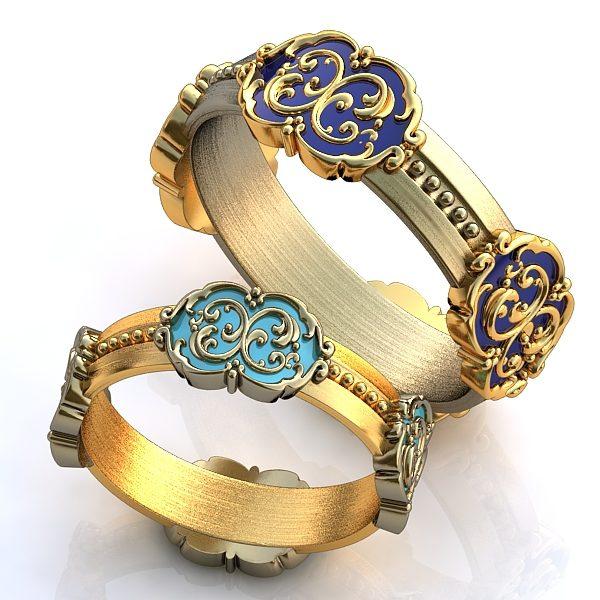 Обручальные Кольца 1660