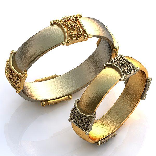 Обручальные Кольца 1661
