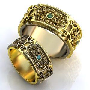 Обручальные Кольца 1698